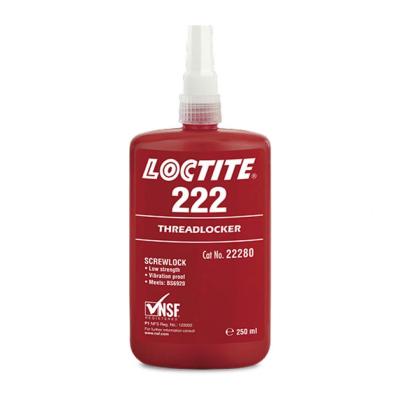 Frein Filet Faible Loctite 222 250mL