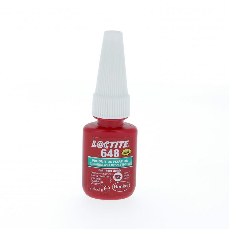 Blocpresse Loctite 648 5mL