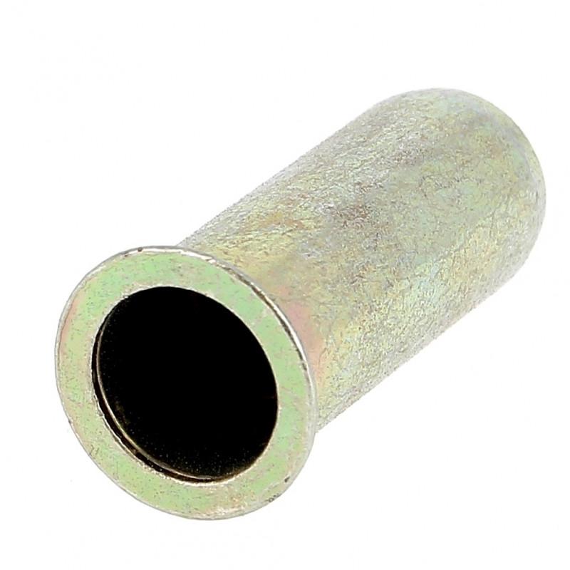 Ecrou Noyé RIVKLE en Acier Bichromaté à Fût Cylindrique Lisse Borgne (Tête Fraisée)